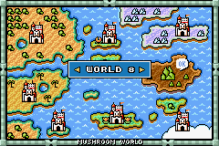 Super Mario Advance 4 - Super Mario Bros. 3 - Ending  - world  - User Screenshot